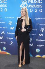 EDURNE GARCIA ALMAGRO at Los 40 Music Awards Photocall in Madrid 12/05/2020