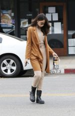 EIZA GONZALEZ Out for Coffee in West Hollywood 12/23/2020