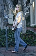 ELLE FANNING Out and About in West Hollywood 12/18/2020