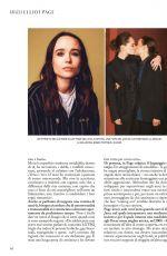 ELLEN PAGE in Grazia Magazine, Itay December 2020