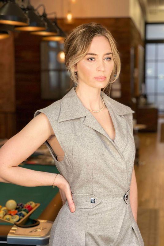 EMILY BLUNT for Vogue Magazine, December 2020