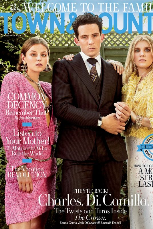 EMMA CORRIN in Town and Country Magazine, November 2020