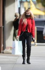 EMMA SLATER at Susie Cakes Bakery in Los Angeles 12/12/2020