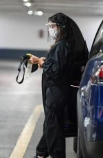 EVA LONGORIA Wearing a Face Mask Out in Los Angeles 12/10/2020