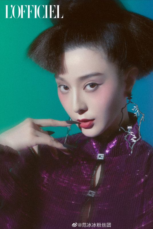 FAN BINGBING for L'Officiel Magazine, Italy Winter 2020