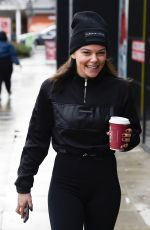 FAYE BROOKES at Costa Coffee in Manchester 12/12/2020