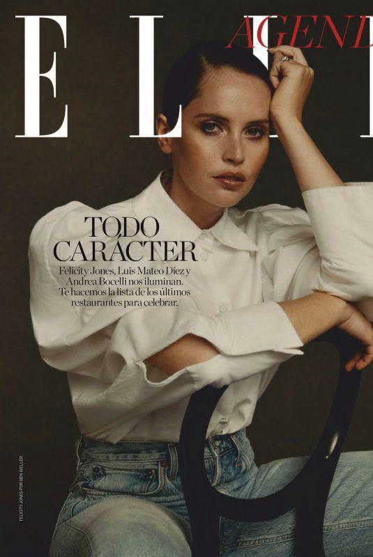 FELICITY JONES in Elle Magazine, Spain January 2021