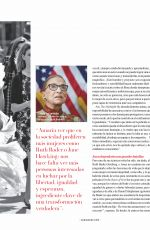 FELICITY JONES in Vanidades Magazine, Mexico January 2021