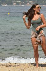 FRANCESCA ALLEN in Swimsuit at a Beach in Dubai 12/01/2020