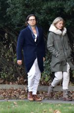 GWYNETH PALTROW and Brad Falchuk Out in New York 11/29/2020
