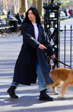 HAILEE STEINFELD on the Set of Hawkeye in New York 12/03/2020