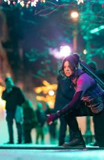 HAILEE STEINFELD on the Set of Hawkeye in New York 12/11/2020