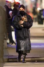 HAILEE STEINFELD Out with her Dog in New York 12/09/2020