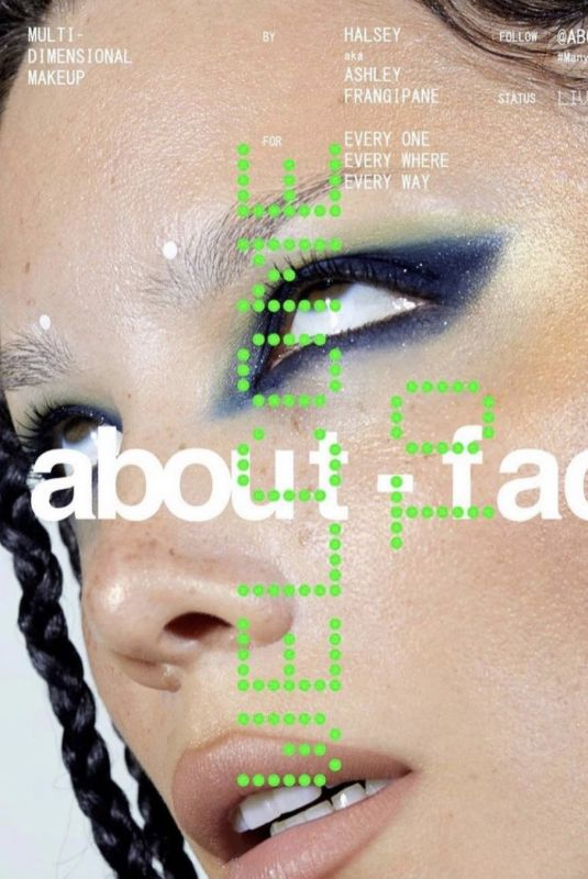 HALSEY – About-face Beauty Collection 2020