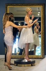HEATHER RAE YOUG at Wedding Dress Shopping with CHRISHELL STAUSE in Los Angeles 12/09/2020