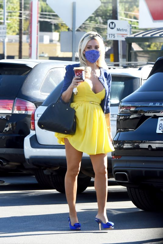HOLLY MADISON at a Photoshoot in Los Angeles 12/03/2020