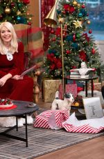 HOLLY WILLOUGHBY at Christmas Special TV Show 12/25/2020