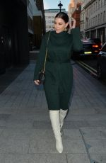 IMOGEN THOMAS Arrives at Cecconi in London 12/08/2020