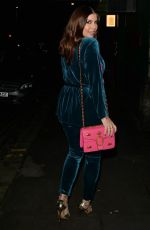 IMOGEN THOMAS Night Out in London 12/15/2020