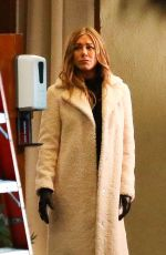 JENNIFER ANISTON on the Set of The Morning Show in Los Angeles 12/15/2020