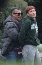 JENNIFER LAWRENCE on the Set of Don