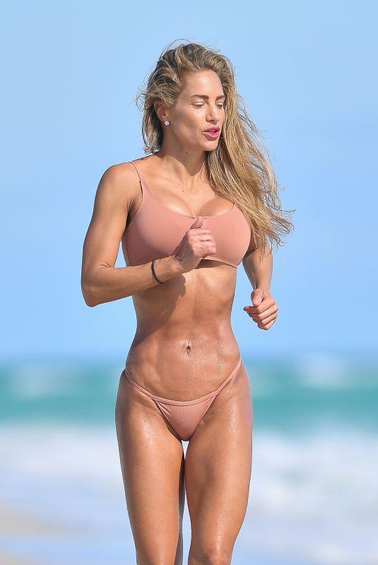 JENNIFER NICOLE LEE in Bikini at a Photoshoot in Miami Beach 12/22/2020