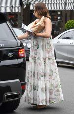 JESINTA FRANKLIN Leaves a Bakery in Rose Bay 12/03/2020