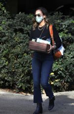 JESSICA ALBA Arrives at Her Honest Company in Los Angeles 12/15/2020