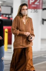 JESSICA ALBA Shopping at Nordstrom in Century City 12/22/2020