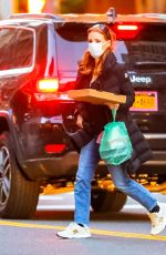 JESSICA CHASATAIN Out in New York City 11/29/2020