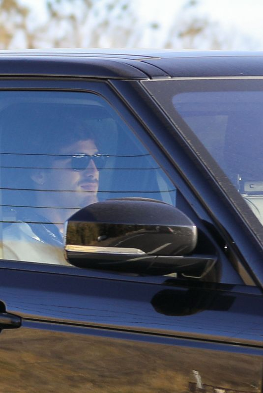 KAIA GERBER and Jacob Elordi Out Driving in Malibu 12/17/2020