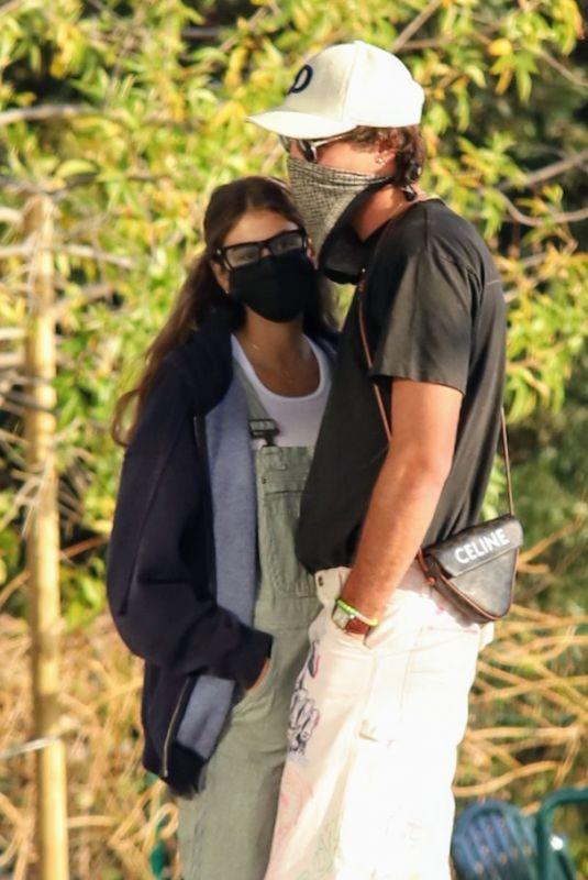 KAIA GERBER and Jacob Elordi Out in Malibu 12/27/2020