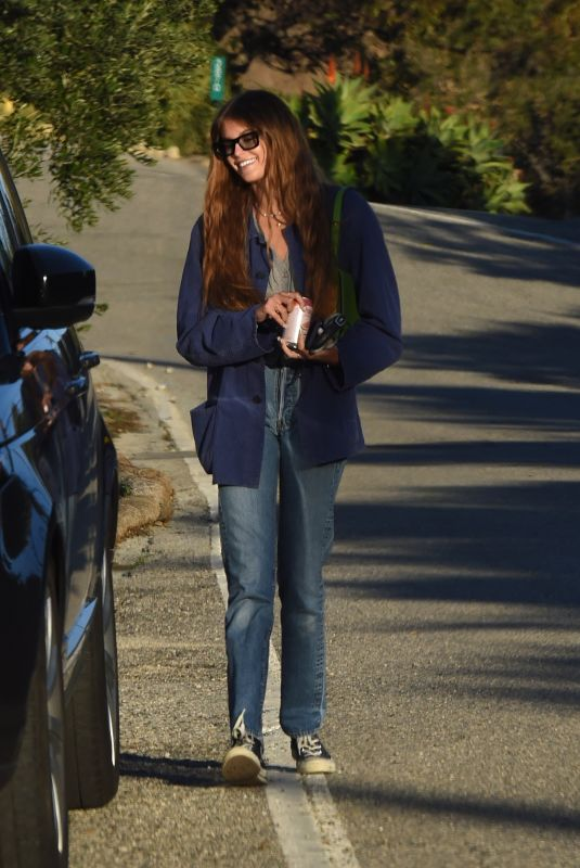 KAIA GERBER Out and About in Malibu 12/29/2020