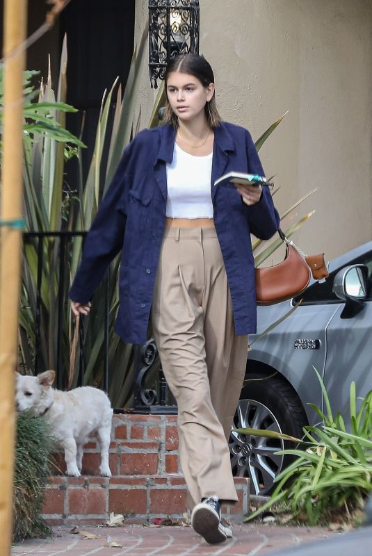 KAIA GERBER Out and About in Santa Monica 12/15/2020
