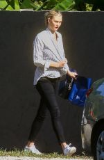 KARLIE KLOSS Out and About in Miami 12/18/2020