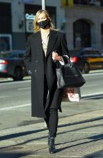 KARLIE KLOSS Out and About in New York 12/10/2020