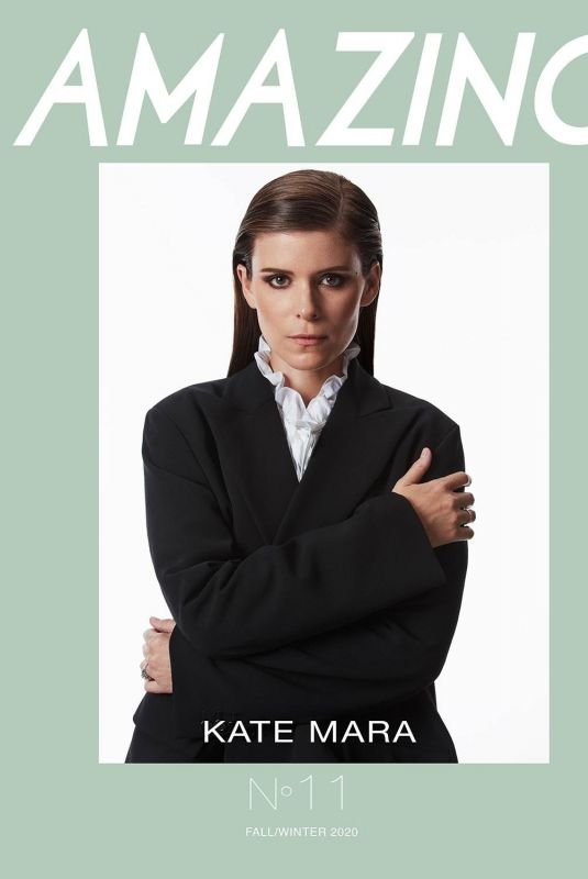 KATE MARA in Amazing Magazine, Winter 2020