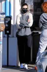 KATE MARA Out for Coffee in Los Angeles 12/14/2020