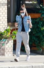KATE MARA Out for Coffee in Los Feliz 12/27/2020