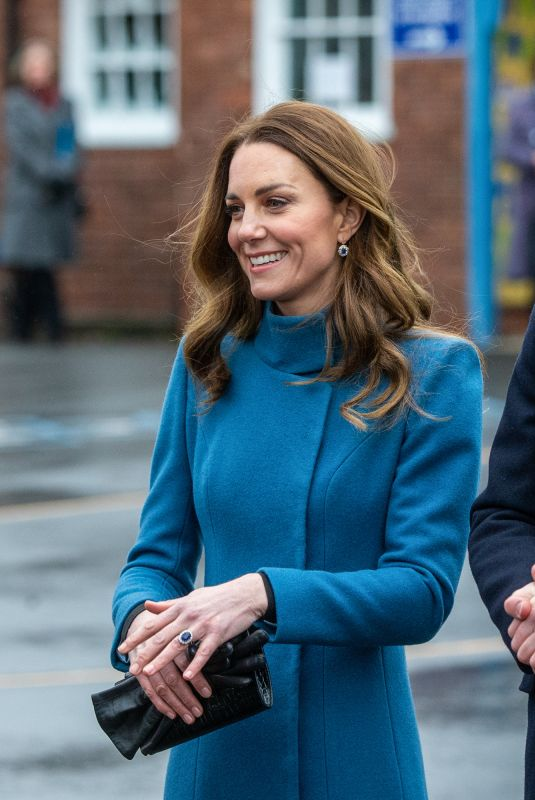 KATE MIDDLETON and Prince William at Holy Trinity Church of England First School in Berwick-upon-tweed 12/07/2020