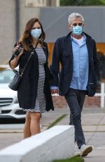 KATHARINE MCPHEE and David Foster out in West Hollywood 12/28/2020