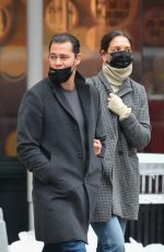 KATIE HOLMES and Emilio Vitolo Jr Heading to a Museum in New York 12/01/2020