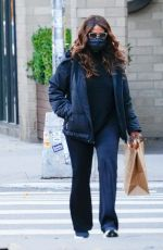 KATIE HOLMES Out Shopping in New York 12/02/2020