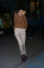 KENDALL JENNER Night Out in New York 12/03/2020