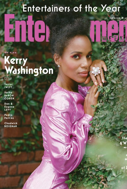 KERRY WASHINGTON in Entertainment Weekly, December 2020