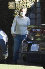 KRISTEN BELL Outside Her Home in Los Feliz 12/19/2020