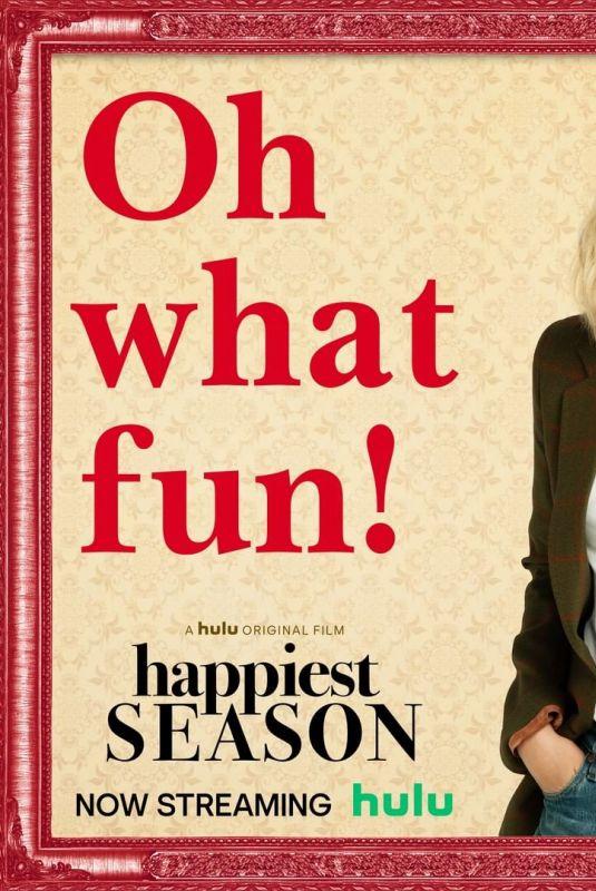 KRISTEN STEWART – Happiest Season Poster 2020