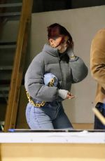 KYLIE JENNER Shopping at Balenciaga Store in Los Angeles 12/19/2020