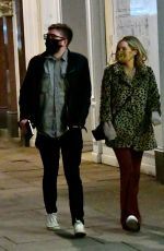 LAURA WHITMORE and Iain Dtirling Out in London 12/05/2020