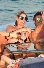 LAUREN SILVERMAN on a Boat in Barbados 12/19/2020